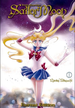 Couverture du livre : Sailor Moon : Pretty Guardian - Eternal Edition, Tome 1