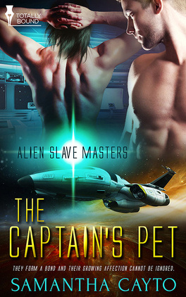 Couverture du livre : Alien Slave Masters, Tome 1 : The Captain's Pet