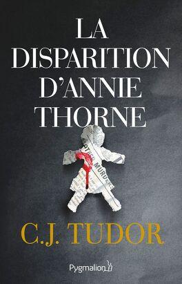 Couverture du livre : La disparition d'Annie Thorne