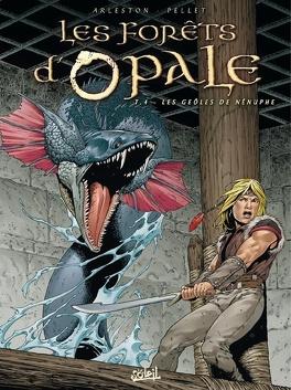 Couverture du livre : Les Forêts d'Opale, Tome 4 : Les Geôles de Nénuphe