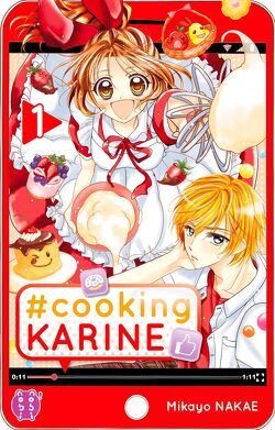 Couverture de #Cooking Karine, Tome 1