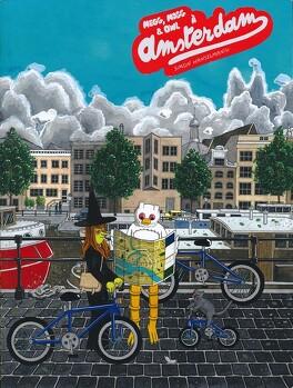 Couverture du livre : Megg, Mogg & Owl, Tome 3 :  Megg, Mogg & Owl à Amsterdam