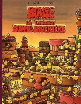 Couverture du livre : Blaise et le château d'Anne Hiversère