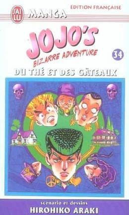 Couverture du livre : Jojo's bizarre adventure, tome 34 : Du thé et des gâteaux