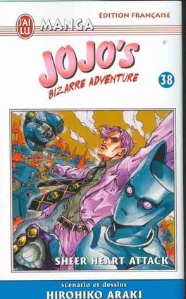 Couverture du livre : Jojo's bizarre adventure, tome 38 : Sheer heart attack
