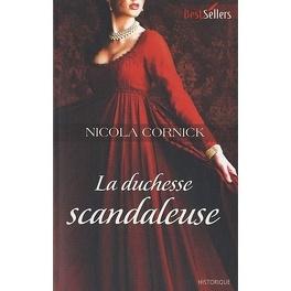 Couverture du livre : La duchesse scandaleuse