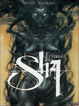 Couverture du livre : Sha, tome 1 : The shadow one