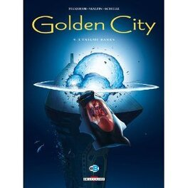 Couverture du livre : Golden City tome 9 L'énigme Banks
