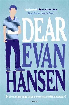 Couverture du livre : Dear Evan Hansen