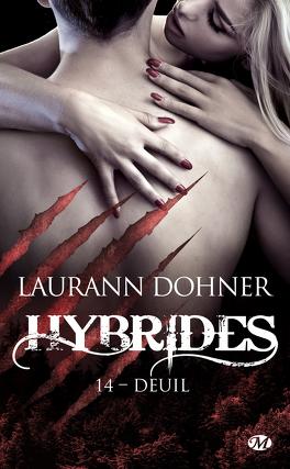 Couverture du livre : Hybrides, Tome 14 : Deuil