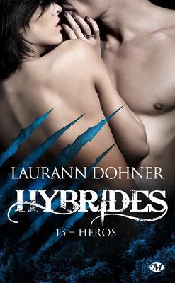 Couverture de Hybrides, Tome 15 : Héros