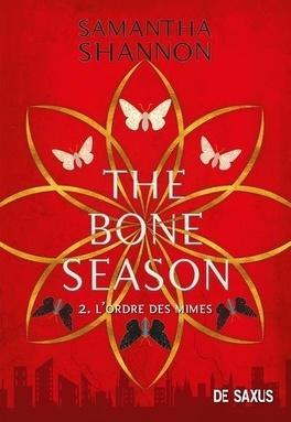 Couverture du livre : Bone season, Tome 2 : L'ordre des mimes
