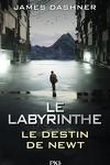 couverture L'Épreuve, Tome 3.5 : Le Labyrinthe : Le Destin de Newt