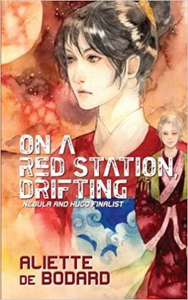 Couverture du livre : On a Red Station, Drifting
