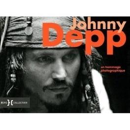 Couverture du livre : johnny depp hommage photographique