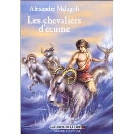 Couverture du livre : L'Archipel de la Lyre, Tome 1 : Les Chevaliers d'écume