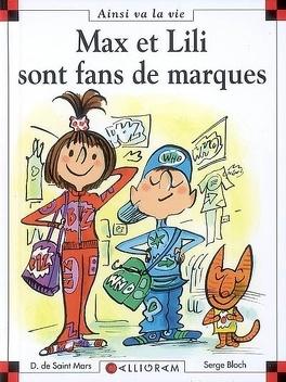 Couverture du livre : Max et Lili sont fans de marques