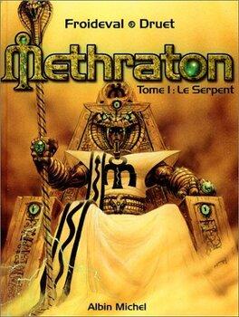 Couverture du livre : Methraton, tome 1 : Le serpent