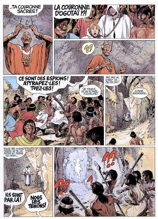 Couvertures, images et illustrations de Thorgal, tome 21 : La ...