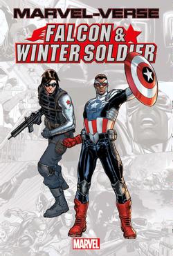 Couverture de Marvel-Verse : Falcon & Winter Soldier