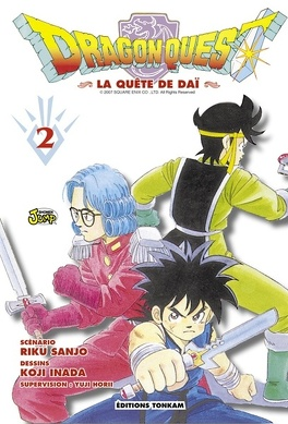 Couverture du livre : Dragon Quest, Tome 2