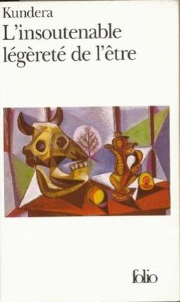 Couverture du livre : L'Insoutenable Légèreté de l'être