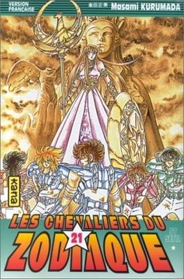 Couverture du livre : Les Chevaliers du Zodiaque, Tome 21