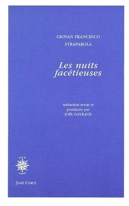 Couverture du livre : Les nuits facétieuses