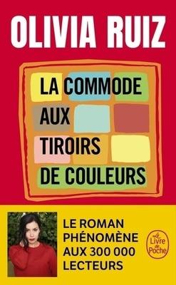 Couverture de La Commode aux tiroirs de couleurs