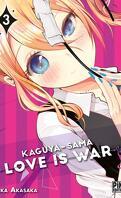 Kaguya-Sama : Love is War, Tome 3