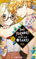 Trois yakuzas pour une otaku, Tome 2