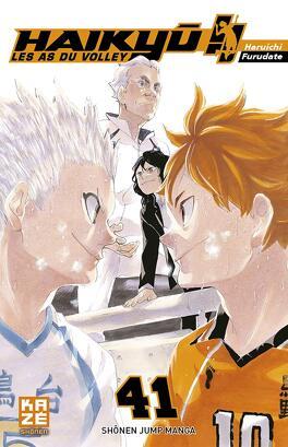 Couverture du livre : Haikyū !! Les As du volley, Tome 41