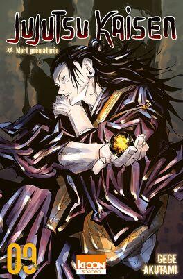 Couverture du livre : Jujutsu Kaisen, Tome 9 : Mort prématurée