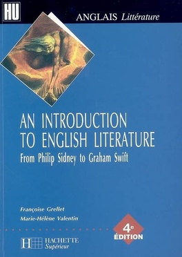 Couverture du livre : An introduction to English litterature : from Philip Sydney to Graham Swift