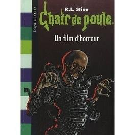 Couverture du livre : Chair de poule, tome 52 : Un film d'horreur