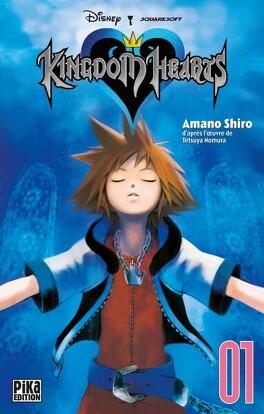 Couverture du livre : Kingdom Hearts, Tome 1