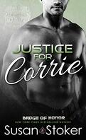 Badge of Honor ~Texas Heroes, Tome 3 : Justice for Corrie