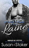 Badge of Honor ~Texas Heroes, Tome 4 : Justice for Laine