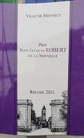 Prix Jean-Jacques ROBERT de la Nouvelle - Recueil 2021