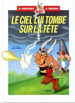 Couverture du livre : Astérix - Double album : Tome 33 - Le ciel lui tombe sur la tête / Le livre d'Astérix le Gaulois : Les voyages