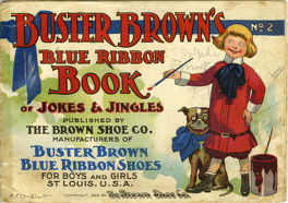 Couverture du livre : Buster Brown's Blue Ribbon Book Of Jokes And Jingles n°2