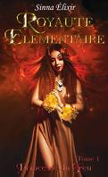 Royauté élémentaire, Tome 1 : Princesse du feu