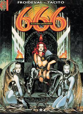 Couverture du livre : 666, tome 2 : Allegro demonio