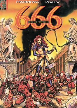 Couverture du livre : 666, tome 3 : Demonio fortissimo