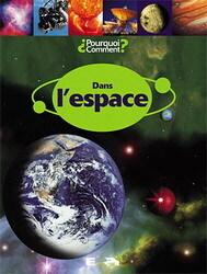 Couverture du livre : Dans l'espace