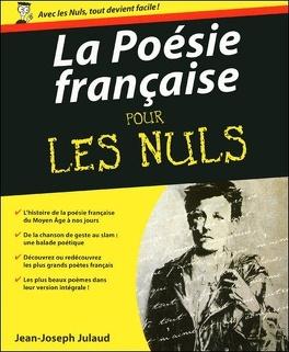 Couverture du livre : La Poésie française pour les nuls