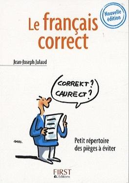 Couverture du livre : Le français correct