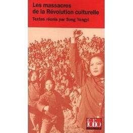 Couverture du livre : Les massacres de la révolution culturelle
