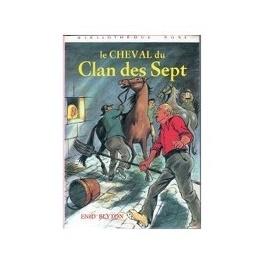 Couverture du livre : Le cheval du clan des sept