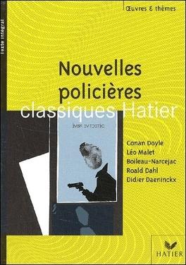 Couverture du livre : Nouvelles policières